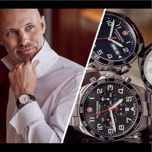 NIB beautiful Victorinox Swiss army classic watch